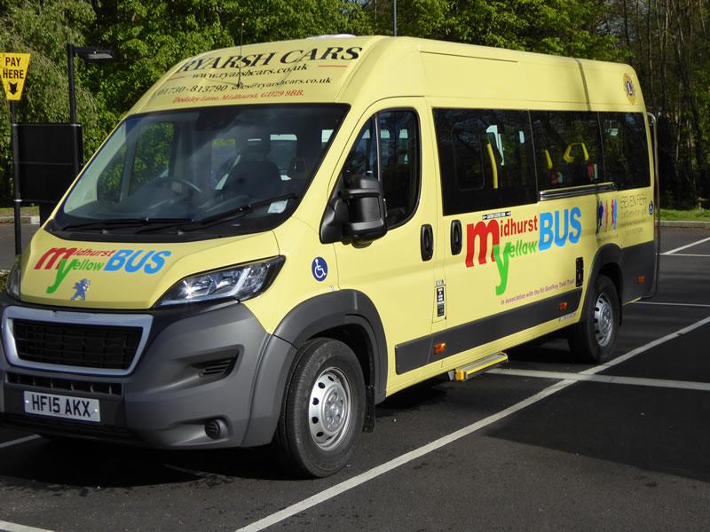 Midhurst Yellow Bus Community Bus