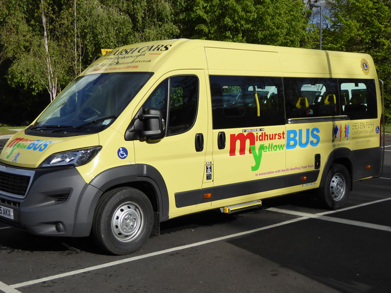 Midhurst Yellow Bus Community Bus